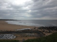 Tynemouth long sands beach 5pm 10 th may 2015 www.tynemouthwebcam.com