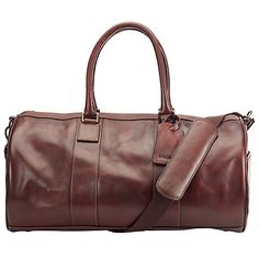 Buy John Lewis Gladstone Leather Barrel Bag 460f9aa7213a9