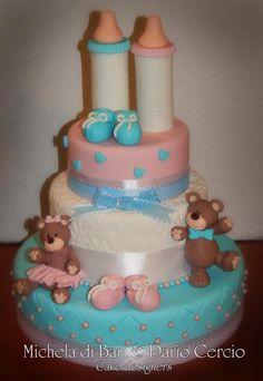 Baptisme cake ♥ Battesimo cake ♥