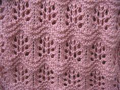 Free Pattern: Japanese Waves by Nanna Gudmand-Høyer
