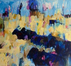 """Theodore Waddell- """"Broadview Angus"""" 66"""" x 72"""" Rembrandt Yard Art Gallery, Boulder, CO"""
