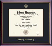 Liberty University Windsor Bachelor Diploma Frame