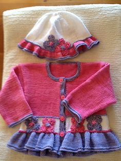 Best 12 Ravelry: Stylecraft 8405 pattern by Audrey Wilson Kids Dress Clothes, Baby Born Clothes, Knitted Baby Clothes, Creative Knitting, Knitting For Kids, Baby Knitting Patterns, Toddler Sweater, Baby Girl Sweaters, Crochet Baby