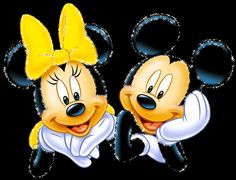 Mickey and Minnie Mouse Gif