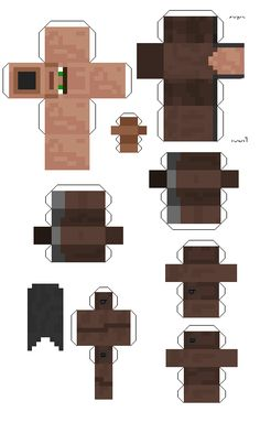 Minecraft Papercraft Cut Outs Minecraft Blocks, All Minecraft, Minecraft Cake, Minecraft Pixel Art, Minecraft Crafts, Minecraft Projects, Minecraft Skins, Minecraft Houses, Papercraft Minecraft Skin
