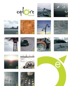 Explore Records Classic series Design and Photography M Millington
