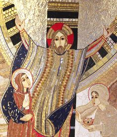 by Father Marko Ivan Rupnik- Esaltazione della santa Croce Cristiano, Christian Art, Religious Art, Pictures To Draw, Jesus Christ, Christianity, Art Drawings, Altars, Abstract
