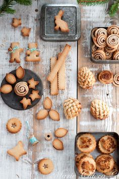 Natural Christmas with good finances half 2 No Salt Recipes, No Dairy Recipes, Foods With Gluten, Biscuit Cookies, Biscuit Recipe, Natural Christmas, No Sugar Foods, Vegan Kitchen, Food Decoration