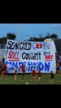 High school rivalry football game