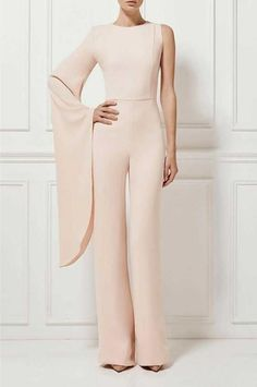 39 Elegant Cute Jumpers Jumpsuits For Women. casual jumpsuit outfit womens fashion inspiration and ideas. Jumpsuit Elegante, Jumpsuit Dressy, Wedding Jumpsuit, Jumpsuit Outfit, Jumpsuit With Sleeves, Elegant Jumpsuit, Red Jumpsuit, Dressy Jumpsuits Evening Wear, Jumpsuits For Women Formal