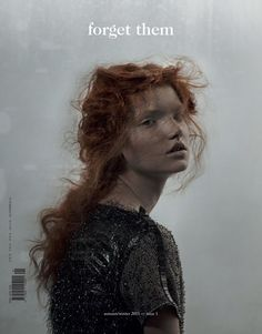 A lovely editorial, 'Bohèmienne', featuring a divine red haired model Anastasia Ivanova as photographed by Domenico Cennamo for Forget Them magazine's Winter 2011 edition. Beautiful Redhead, Beautiful People, Look Fashion, Fashion Models, Portrait Photography, Fashion Photography, Human Photography, Beauty Photography, The Libertines