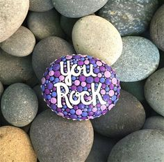 Top Painted Rock Art Ideas With Quotes You Can Do(14)