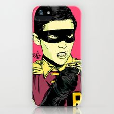 Holy Burt-man! iPhone & iPod Case by Vee Ladwa - $35.00