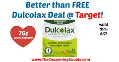 WOOHOO!!! Hurry to grab your printable coupon and score this HOT deal, or use at your favorite store! Better than FREE Dulcolax Deal @ Target!  Click the link below to get all of the details ► http://www.thecouponingcouple.com/better-than-free-dulcolax-deal-target/ #Coupons #Couponing #CouponCommunity  Visit us at http://www.thecouponingcouple.com for more great posts!