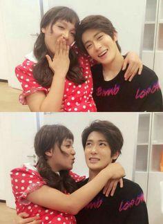 Jaehyun and his girlfriend