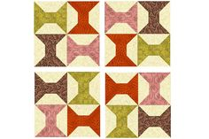 Arkansas Traveler Quilt Block Pattern