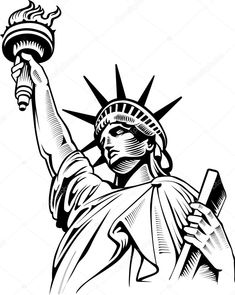 Find American Symbol Statue Liberty New York stock images in HD and millions of other royalty-free stock photos, illustrations and vectors in the Shutterstock collection. Thousands of new, high-quality pictures added every day. Statue Of Liberty Drawing, Statue Of Liberty Tattoo, American Symbols, Native American Art, Art Sketches, Art Drawings, Doodle Art Letters, Liberty New York, Stippling Art