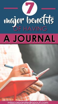 Time to throw out the old notion that a journal is just a diary. Here are the 7 major benefits of keeping a journal.