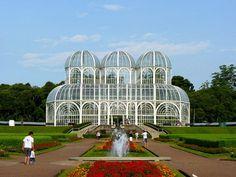 Jardim Botânico de Curitiba, Curitiba, Paraná, Brasil