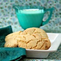 Crinkly, Crackly Vanilla Bean Sugar Cookies