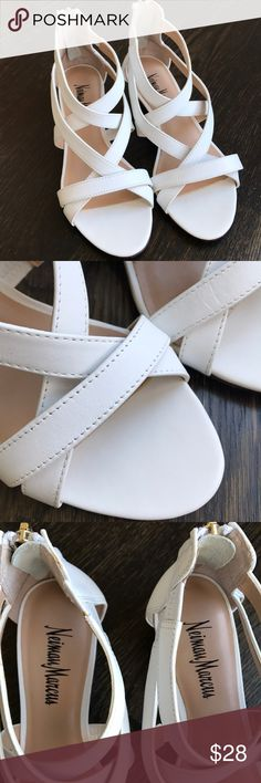 Neiman Marcus Sandals Super cute! Like new condition! Neiman Marcus Shoes Wedges