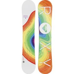 "Roxy ""Banana Smoothie"" Snowboard - Cant wait to shred @ Seirra"