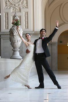 S.F. Ballet dancers Vanessa Zahorian and Davit Karapetyan officially tied the knot