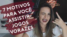 7 motivos para você assistir JOGOS VORAZES lá no YouTube Luvie >> https://youtu.be/FDVM4iQ7r5w