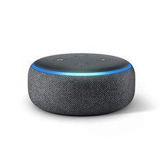 Certified Refurbished Echo Dot Gen) - Voice control your smart home with Alexa - Charcoal Best Speakers, Wireless Speakers, Amazon Echo, Amazon Dot, Alexa App, Alexa Echo, Alexa Alexa, Dolby Audio, Tela