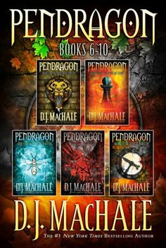 Pendragon Books 6-10: The Rivers of Zadaa; The Quillan Games; The Pilgrims of Rayne; Raven Rise; The Soldiers of Halla by D.J. MacHale