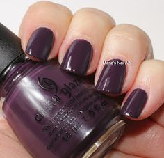 Marias Nail Art and Polish Blog: China Glaze Autumn Nights Coll. swatches part 2: Strike Up A Cosmo, Gossip Over Gimlets,Goldie But Goodie, Rendezvous With You, Queen B, Charmed, I'm Sure