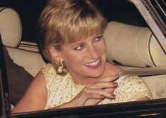 "March 19, 1996: Diana, Princess of Wales at "" Alice in Wonderland "" English National Ballet, Coliseum in London."
