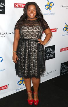 Amber Riley  Love the dress, love the show, love her!