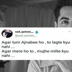 Ayushmann Khurrana Quotes In Hindi - Ayushmann Khurrana Quotes - Quotes interests Funny Quotes In Hindi, Shyari Quotes, Desi Quotes, Lines Quotes, Best Lyrics Quotes, Crazy Quotes, Mood Quotes, True Quotes, Hindi Qoutes