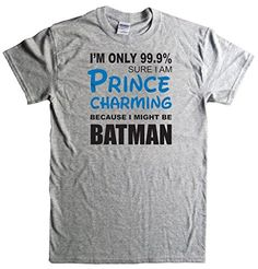Ryott Designs Prince Charming Batman Grey T-Shirt-Medium Ryott Designs http://www.amazon.com/dp/B00MGWQZBS/ref=cm_sw_r_pi_dp_9BL5tb0BRVM64