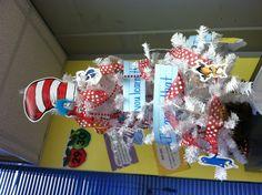 Our Dr. Seuss classroom tree!