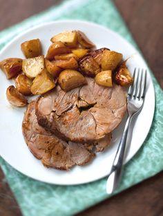 Recette de Gigot d'agneau aux pommes boulangères