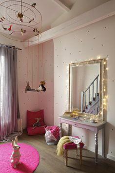 chambre de petite fille à Neuilly
