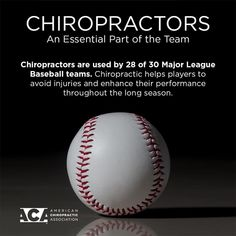 ⚾️ Chiropractic is an important part of keeping athletes . ⚾️ Chiropractic is an important part of keeping athletes … Happy Opening - Chiropractic Benefits, Chiropractic Humor, Chiropractic Therapy, Chiropractic Office, Physical Therapy Humor, Mlb, Frozen Shoulder, Acupressure, Acupuncture