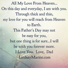 Father's Day-Heaven