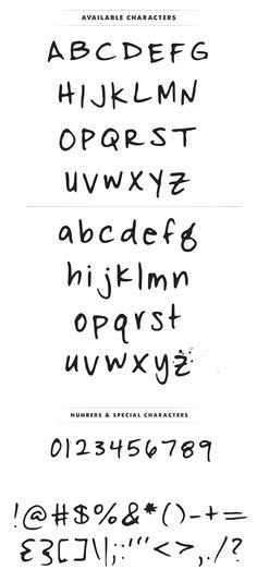 Fofer Font Letters