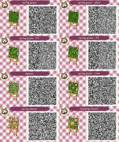 QR codes - (page 64) - Animal Crossing new leaf
