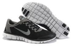 Nike Free Suede Mens Black grey