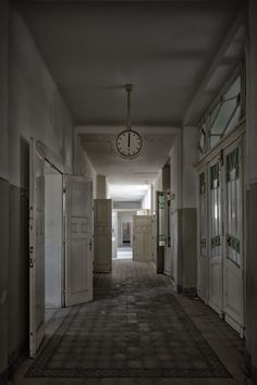 our darkest hour - captured in the abandoned Mental Hospital S. (2014)