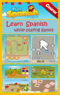 Play Games to Learn Spanish - Fun Language App for Young Kids (age 3 to 10)