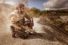 Cosplayer: Maul Cosplay Photographer: eosAndy Character: Snake From: Metal Gear Solid V - The Phantom Pain Country: Germany