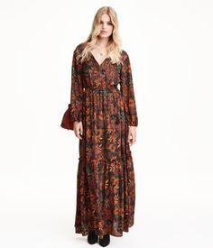 H&M Vestido largo estampado $299