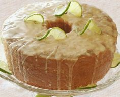 Key Lime Pound Cake - Oh how I can only imagine the amazingness!!!