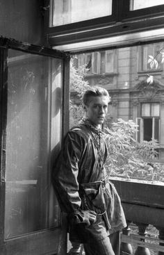 Wiesław Chrzanowski (20 December 1923 – 29 April 2012) - a Polish politician and lawyer, a member of the Polish anti-Nazi resistance organization, the Home Army, during World War II, here photographed during the Warsaw Uprising.