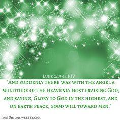Luke 2:13-14 KJV